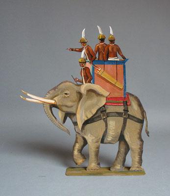 Schachtel 029 - Bild 2 - Nubier Kriegselefant