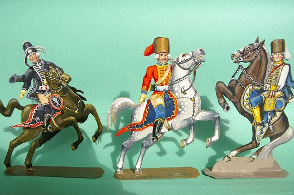 Schachtel 169 - Bild 5  - Preußen Stab: Offiziere Husaren-Regimenter Nr. 5, Nr. 2, Nr. 3