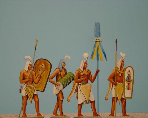 Schachtel 014 - Bild 1 - Ägypten leichte Infanterie