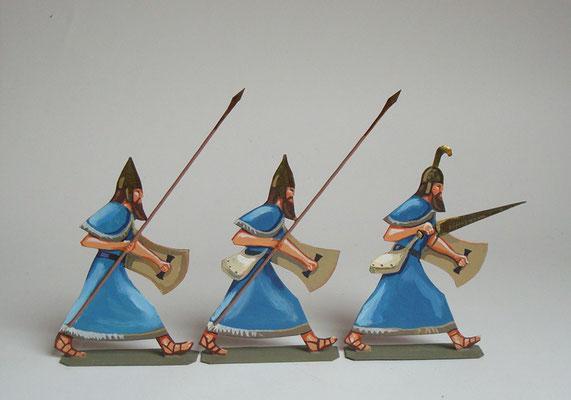 Schachtel 024 - Bild 3- Cheta assyrische Bundesgenossen blau
