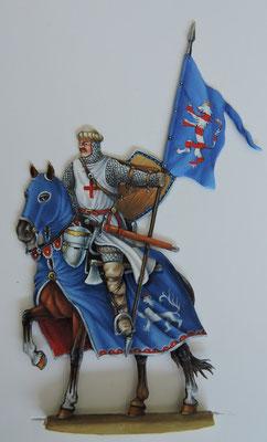 Tagungsfigur 2020: Die wunderschön bemalte Figur des Grafen Ernst IV. von Gleichen