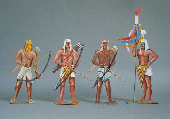 Schachtel 011 - Bild 1 - Ägypten Bogenschützen