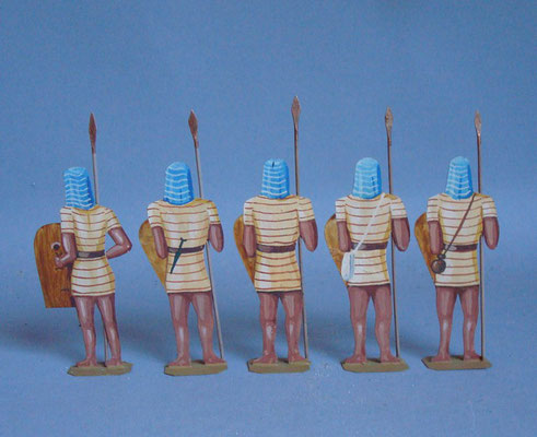 Schachtel 005 - Bild 3 - Ägypten Korps Rames II blau