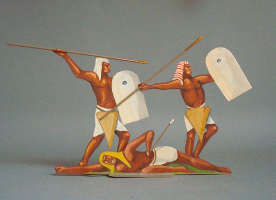 Schachtel 009 - Bild 3 - Ägypten schwere Infanterie Rames II