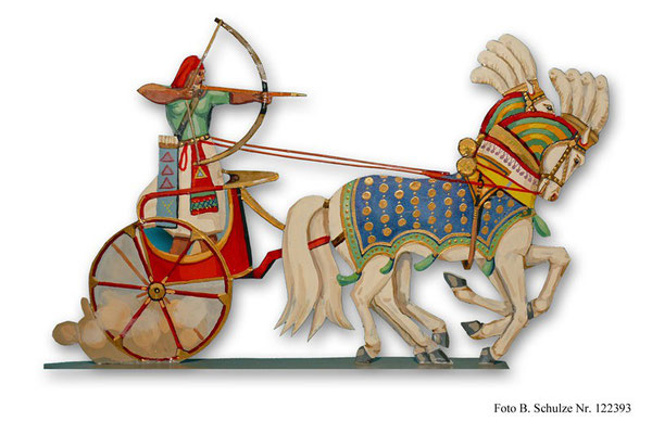 Ägypten Streitwagen  Rames II