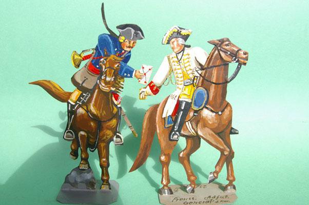 Schachtel 169 - Bild 8  - Preußen Stab: Postreiter und Generaladjutant der Kavallerie