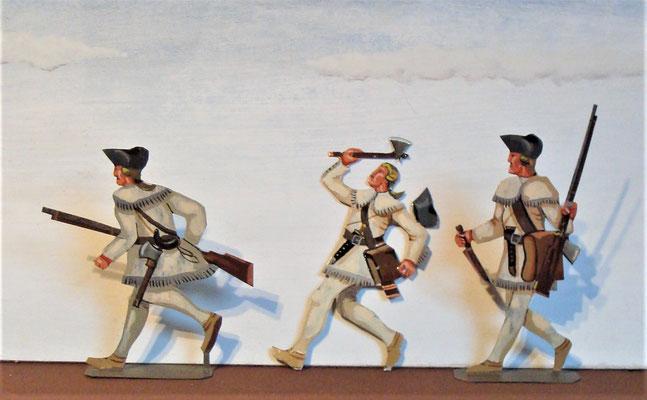 Schachtel 031  - Bild 1 - Neu - England, Miliz, Trapper, Farmer
