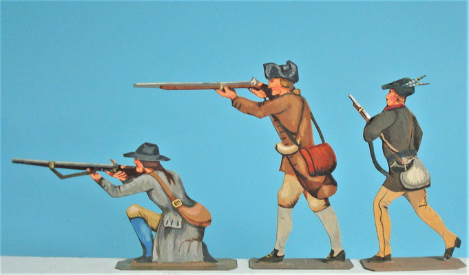 Schachtel 030  - Bild 8 - Neu - England, Miliz, Trapper, Farmer