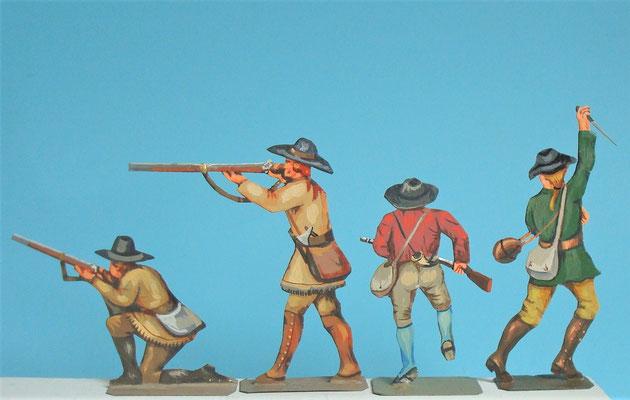 Schachtel 030  - Bild 4 - Neu - England, Miliz, Trapper, Farmer