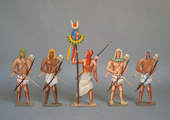 Schachtel 013 - Bild 2 - Ägypten Bogenschützen