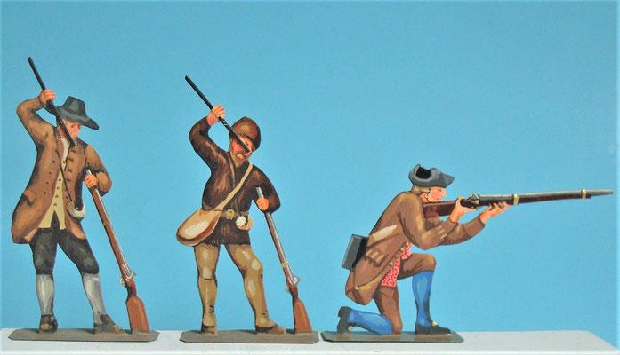 Schachtel 030  - Bild 9 - Neu - England, Miliz, Trapper, Farmer