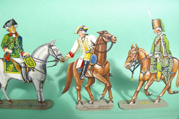 Schachtel 169 - Bild 3  - Preußen Stab: Feldjäger und Generaladjutant der Kavallerie und Huas.-Offz. Nr. 1