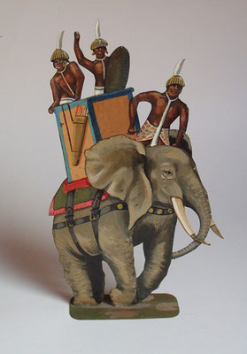 Schachtel 029 - Bild 7 - Nubier Kriegselefant