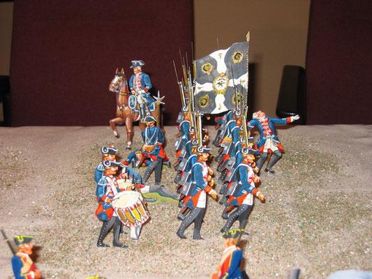 Schachtel 184 - Bild 4  - Preußen Musketiere Infanterie-Regiment Nr. 8