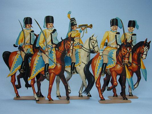 Schachtel 151 - Braunschweig Husaren-Regiment Riedesel