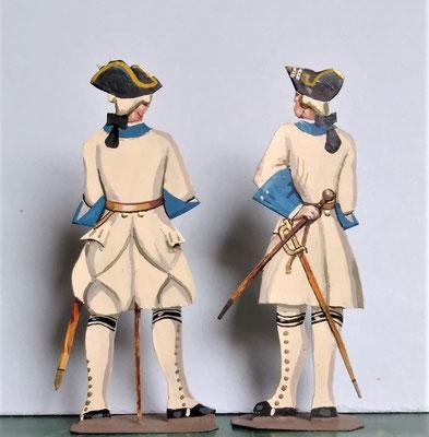 Schachtel 082 - Bild 11 - Offiziere Regt. Roussilion