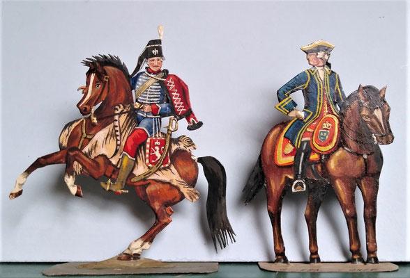 Schachtel 082 - Bild 4 - Husaren Oberst und General en Chef