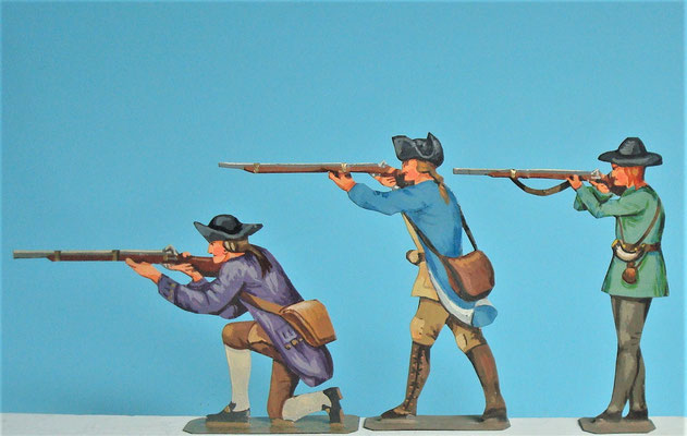 Schachtel 030  - Bild 6 - Neu - England, Miliz, Trapper, Farmer