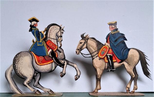 Schachtel 082 - Bild 3 - Marquis de Montcalm und General Major