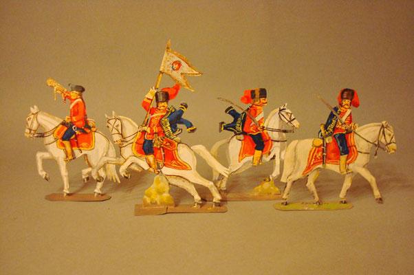 Schachtel 195 - Bild 4  - Österreich Husaren-Regiment Nadasdy