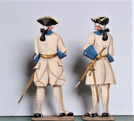 Schachtel 082 - Bild 13 - Offiziere Regt. Lanquedoc