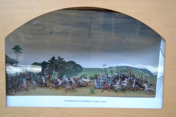 Schlacht bei Tannenberg im Jahre 1410