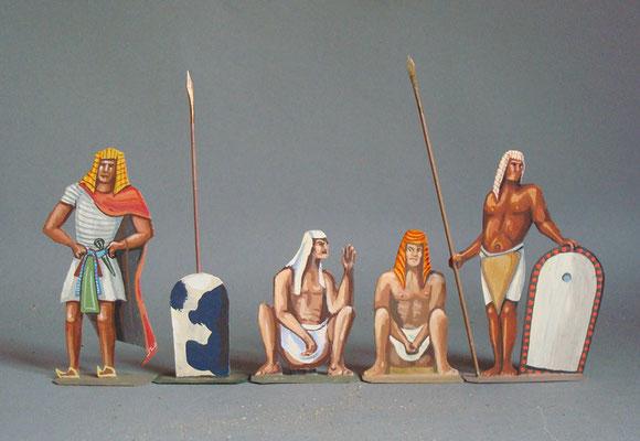 Schachtel 002 - Bild 2 - Ägyptisches Volk
