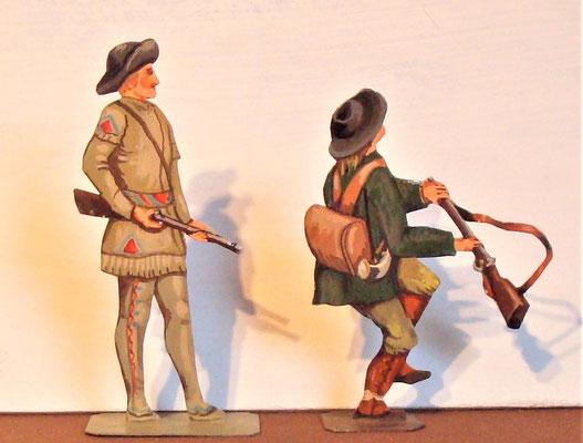 Schachtel 030  - Bild 17 - Neu - England, Miliz, Trapper, Farmer
