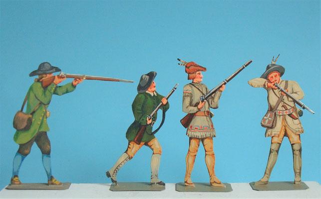 Schachtel 030  - Bild 1 - Neu - England, Miliz, Trapper, Farmer