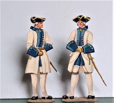Schachtel 082 - Bild 12 - Offiziere Regt. Lanquedoc