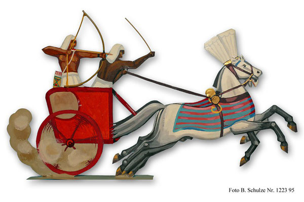 Schachtel 015 - Bild 5 - Ägypten Streitwagen  Rames II