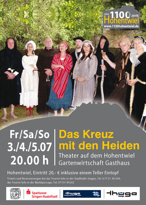 Das Kreuz mit den Heiden Theater Pralka
