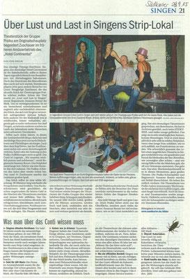 Artikel Südkurier Theater Pralka