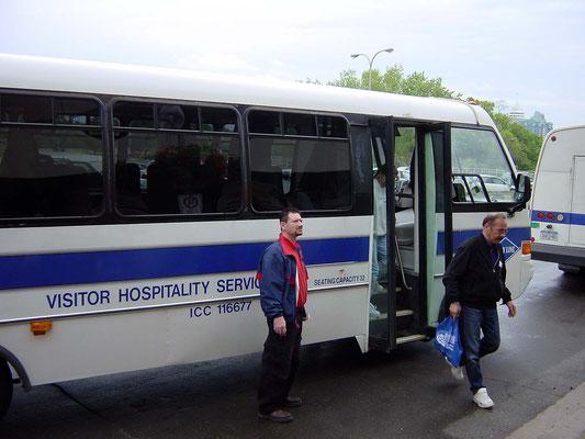 Canadian Rainbow Tour Bus