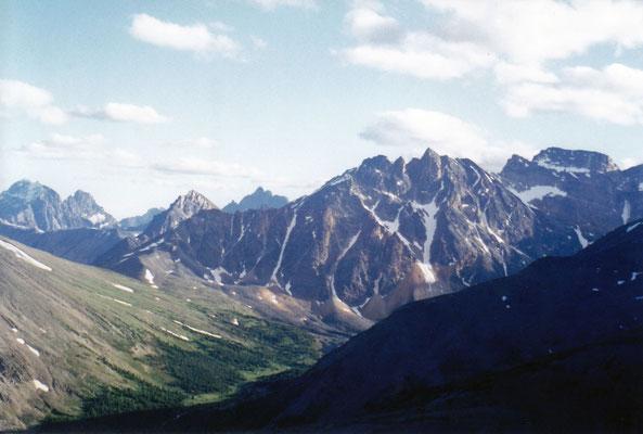 Blick vom Mt. Whistler
