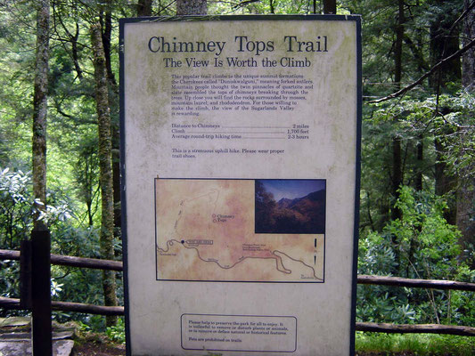 Chimney Tops Trai