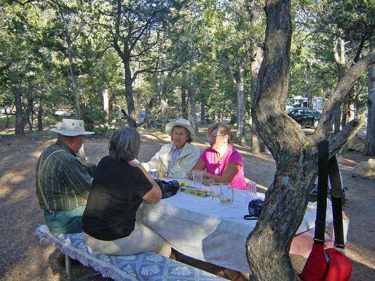 Mather Campground in Grand Canyon Village