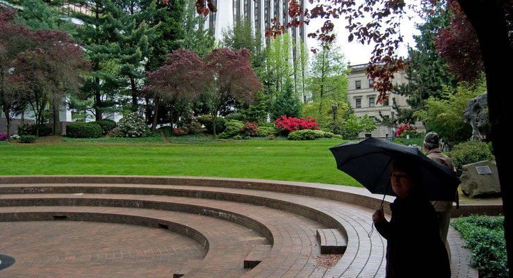 Terry Schrink Plaza , Portland