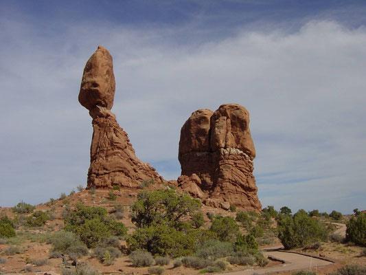 Balanced Rock, Arches Nationalpark