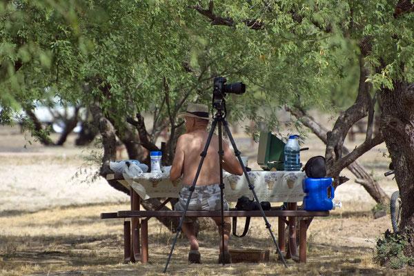 Frühstücken im Catalina State Park