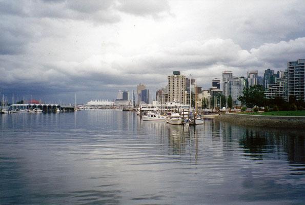 Blick auf Vancouver vom Stanley-Park aus