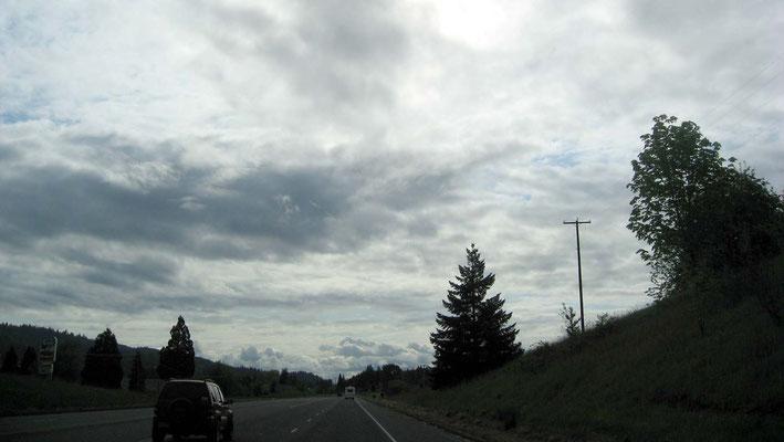 auf dem Weg zum Jantzen Beach RV-Park, Portland