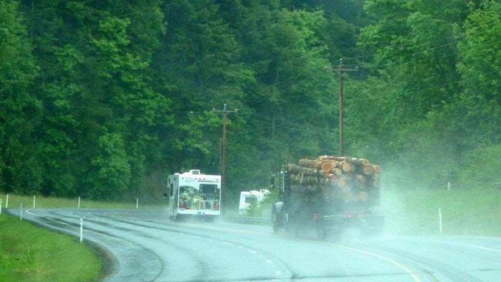 in Washington fahren wir auf der State Road 401, später State Road 4