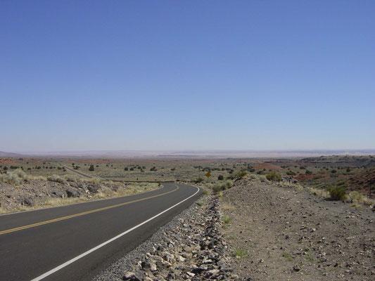auf dem Weg zum Wupatki National Monument