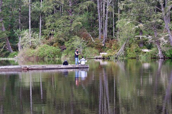 Coffenbury Lake, Fort Stevens State Park