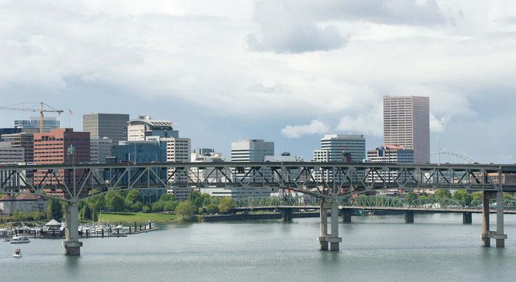 auf dem Weg zum Washington Park, Portland