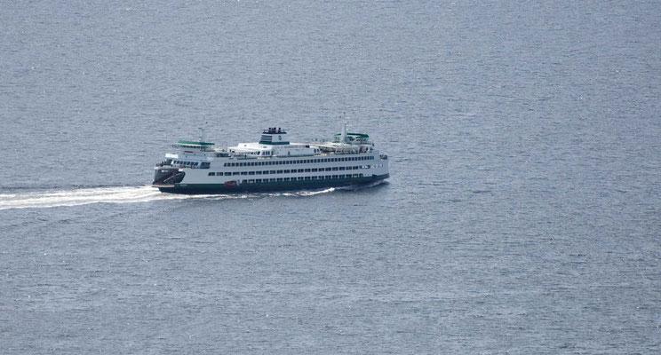 """Elliott Bay, Blick vom Aussichtsturm """"Space Needle"""""""