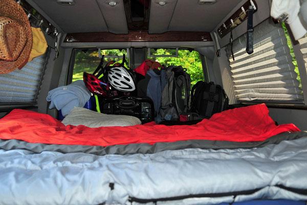 Van von Hans und Herwiga in dem sie während ihrer monatelangen USA-Tour übernachten