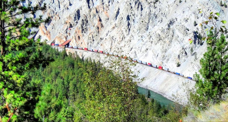 Traintunnels, Skihist Provincial Park