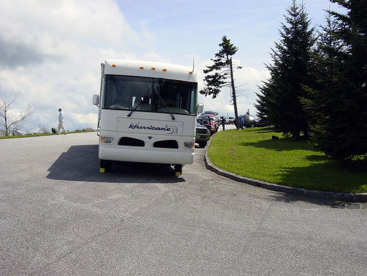 Parkplatz, Clingmans Dome